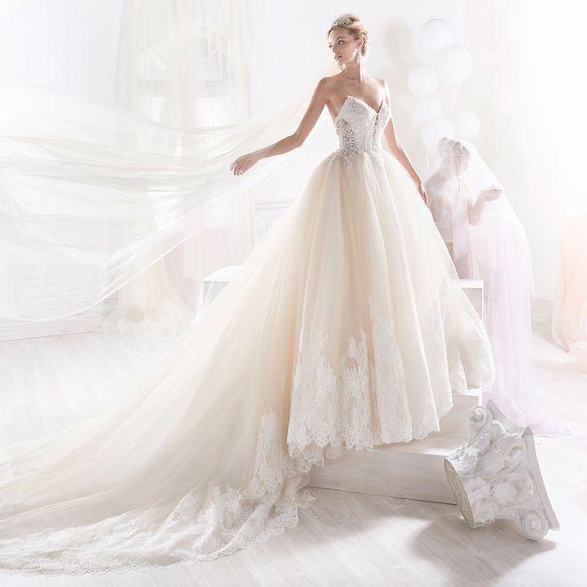 Brautkleider im Prinzessin-Stil 2018