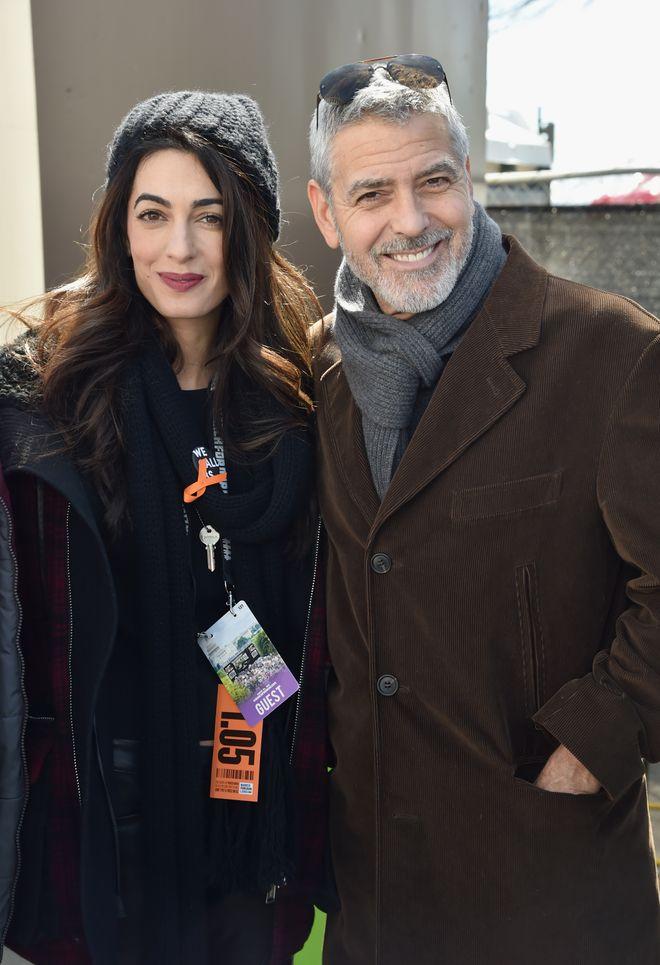 Le star che hanno dei partner non famosi - George Clooney e Amal Alamuddin