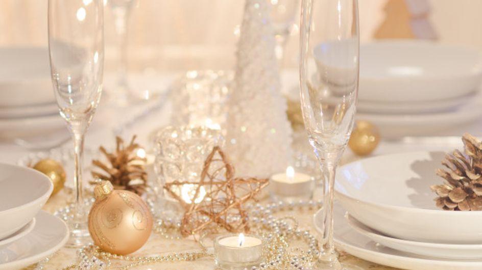 15 idées pour décorer votre table pour Noël !