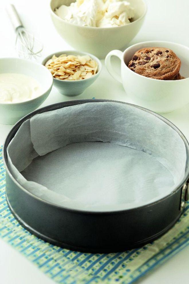 La croûte du cheesecake maison facile