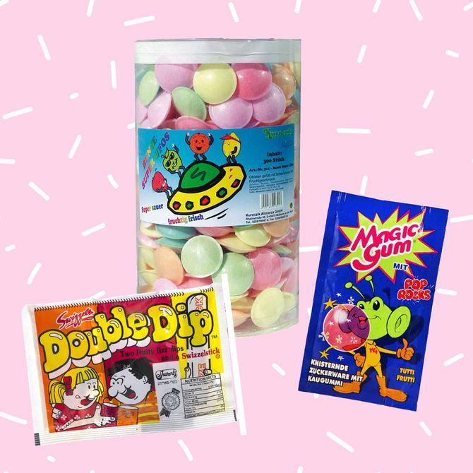 Süße Nostalgie: Retro-Süßigkeiten aus den Neunzigern