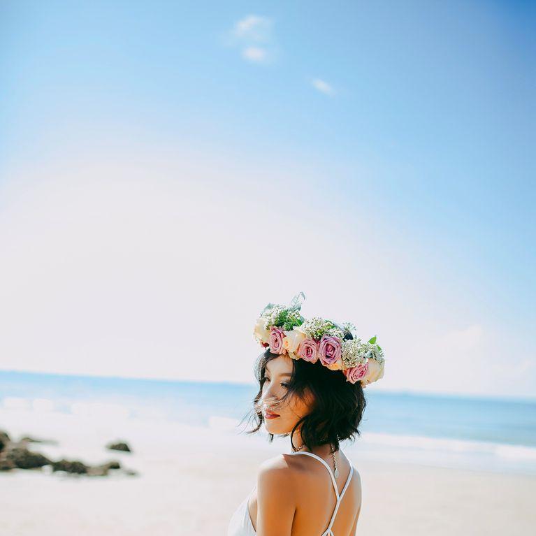 Die Schonsten Brautfrisuren Fur Kurze Haare Fotoalbum Gofeminin