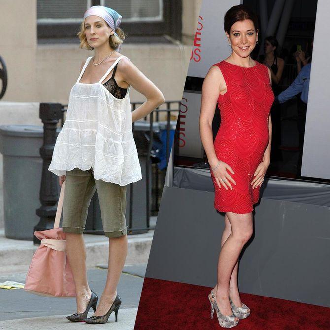 Ces actrices étaient enceintes pendant le tournage