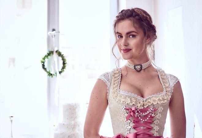 Nicht nur für Trachtenbräute: Schicke Hochzeitsdirndl