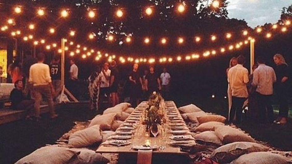 30 ideas de decoración para una fiesta en el jardín
