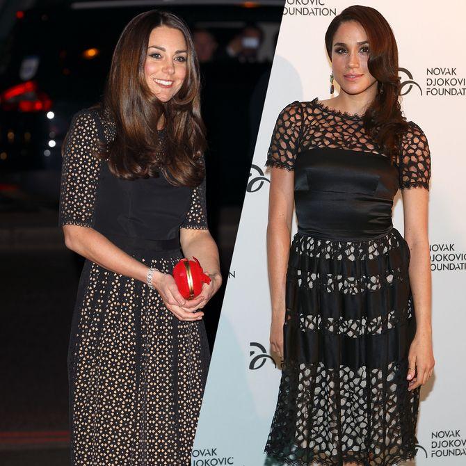 Die Looks von Kate und Meghan im Vergleich