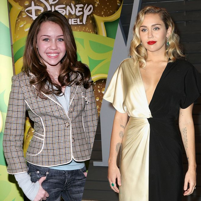 So hat sich Miley Cyrus über die Jahre verändert