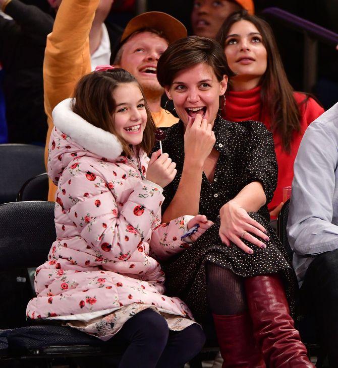 Le mamme single più famose del mondo - Katie Holmes e Suri