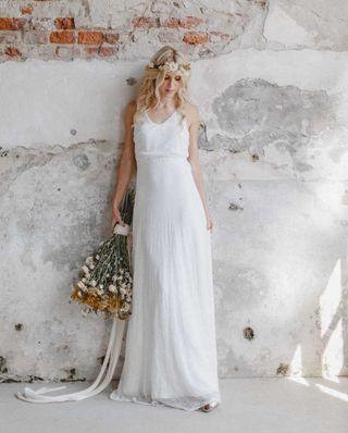 Die schönsten Boho-Brautkleider