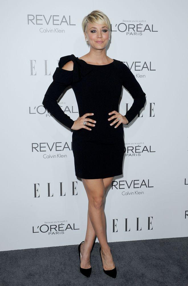 Little black dress: ecco come lo indossano le star! - Kaley Cuoco