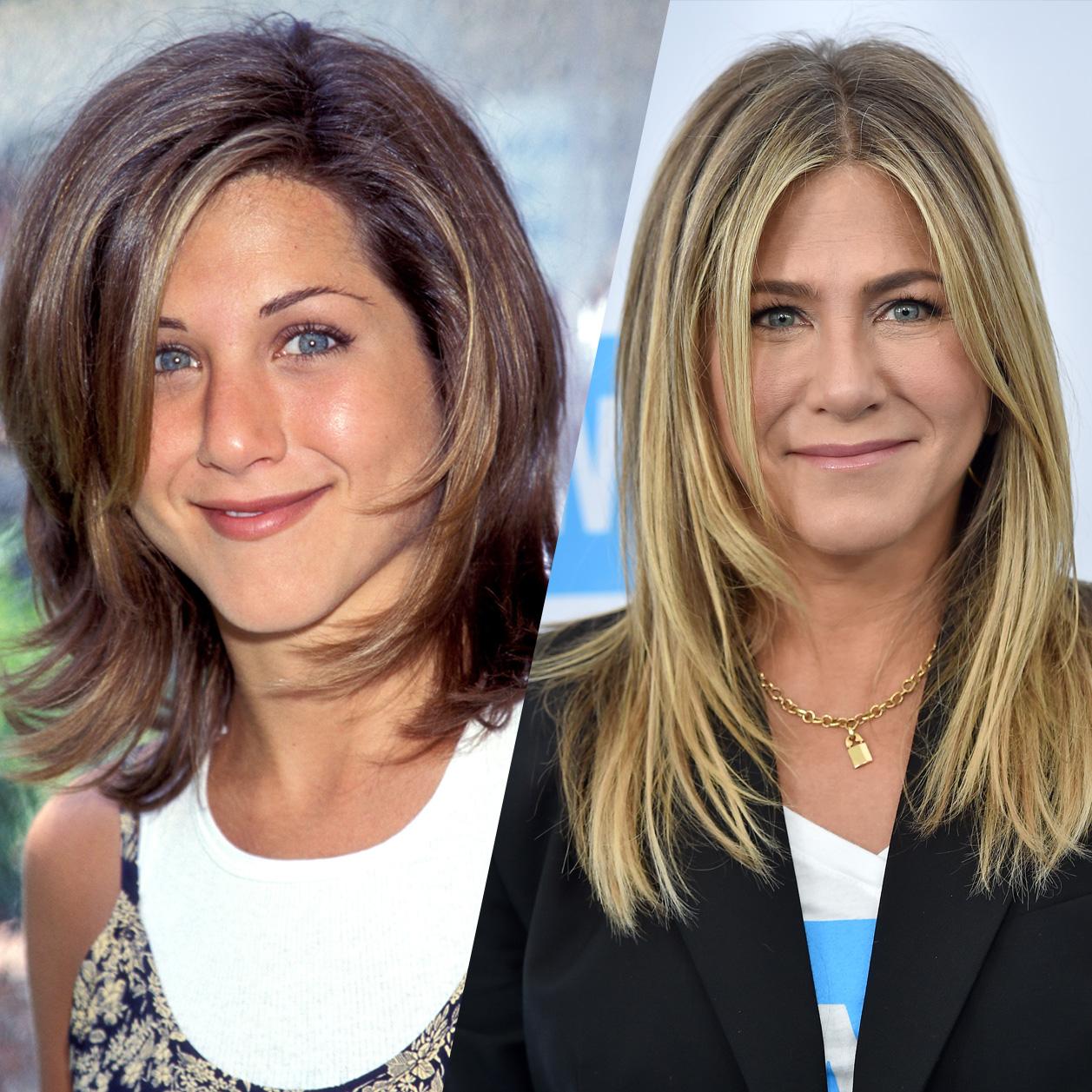 Retour Sur Les Coiffures De Jennifer Aniston