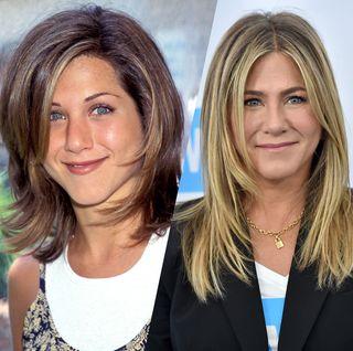 Retour sur les coiffures emblématiques de Jennifer Aniston