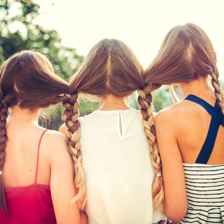 Peinados Fáciles Para Pelo Largo Foto Enfemenino