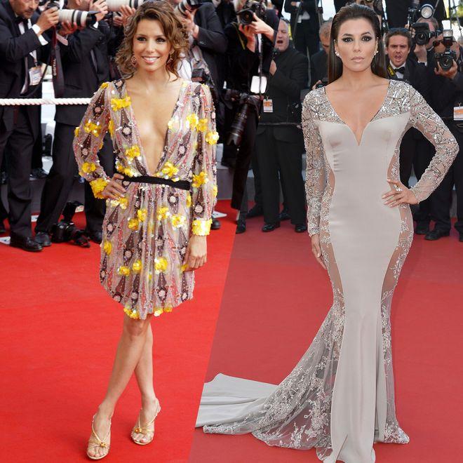 Retour sur les plus beaux looks d'Eva Longoria au Festival de Cannes