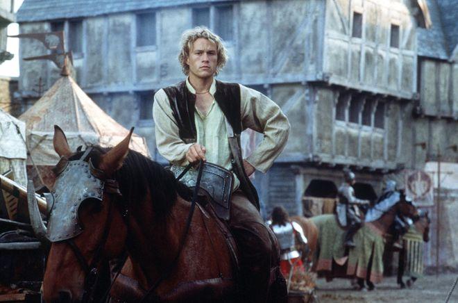 """Heath Ledger en """"Destino de Caballero"""""""