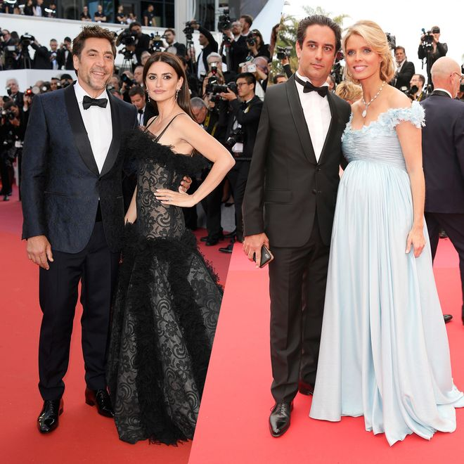 Die schönsten Paare auf dem roten Teppich von Cannes
