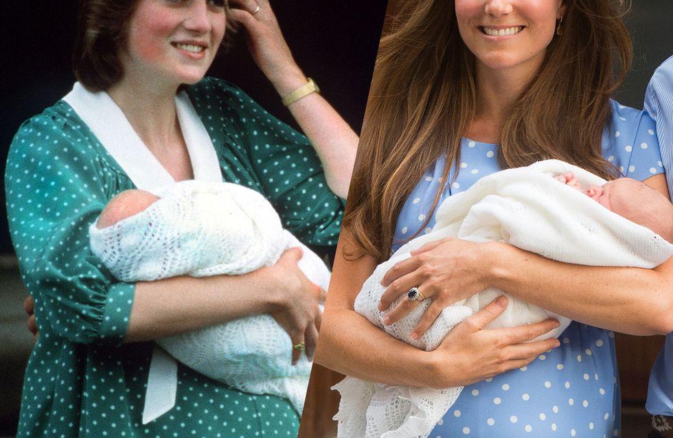Lady Diana VS Kate Middleton: i look a confronto