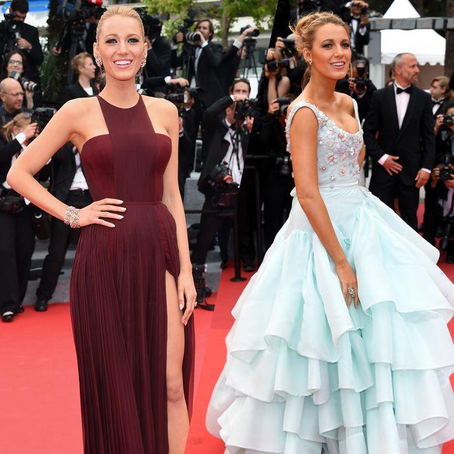 Blake Lively : ses plus beaux looks du Festival de Cannes