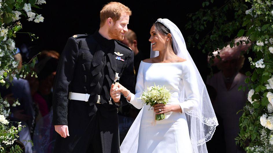 Zum Hochzeitstag von Meghan & Harry: Die Traumhochzeit in Bildern