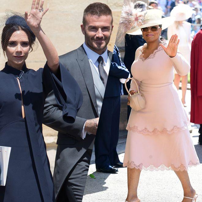 Les invités présents au mariage royal du prince Harry et Meghan Markle