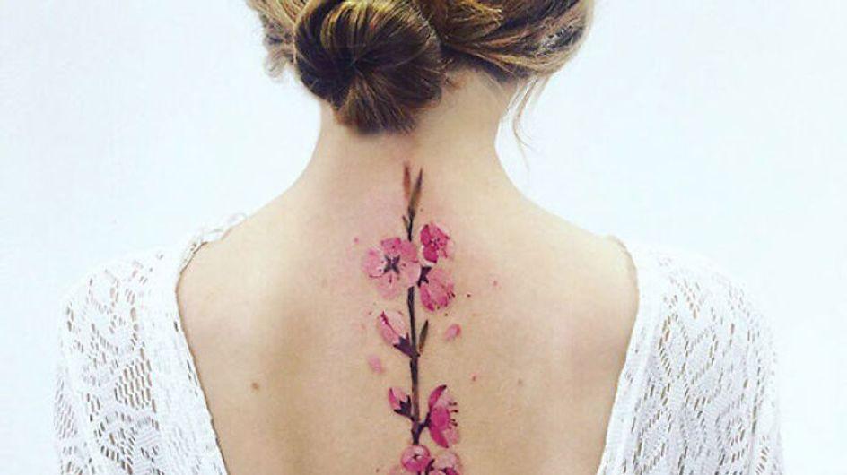 Tatuajes para la columna vertebral: diseños que querrás en tu espalda