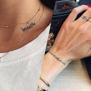 30 tatouages minimalistes pour enfin sauter le pas