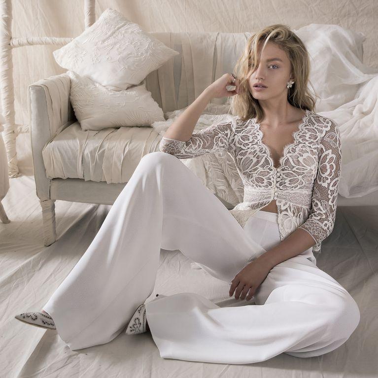 Schnelle Lieferung Vorschau von bieten eine große Auswahl an Hosenanzug für die Braut: 30 wunderschöne Modelle zur ...