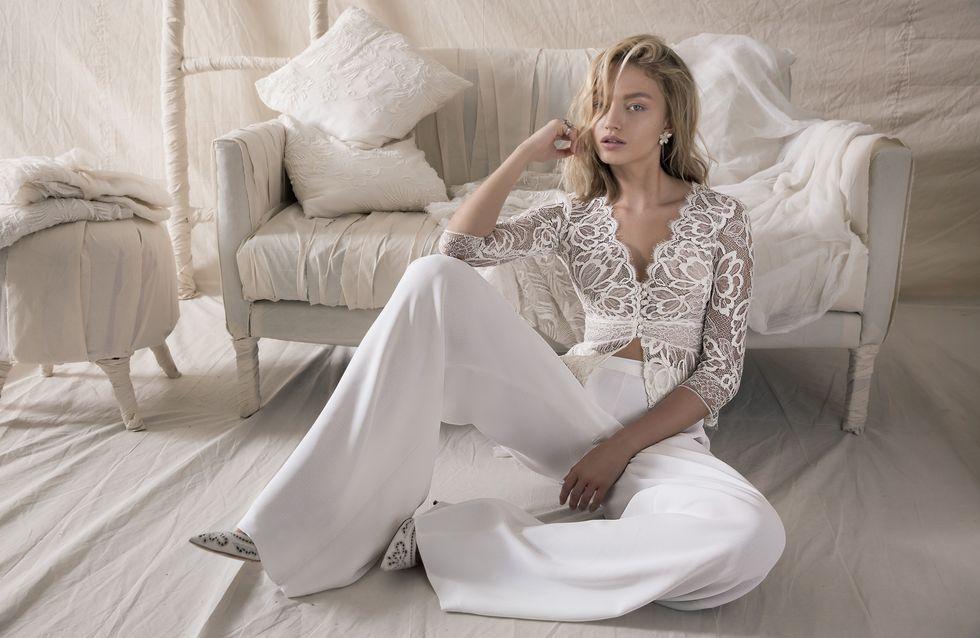Hosenanzug für die Braut: 30 wunderschöne Modelle zur Inspiration