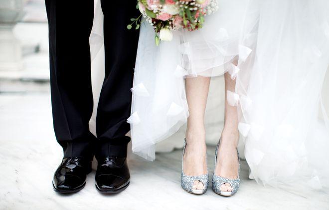 Bequeme Brautschuhe: Auf diesen Schuhen kannst du die ganze Nacht tanzen!