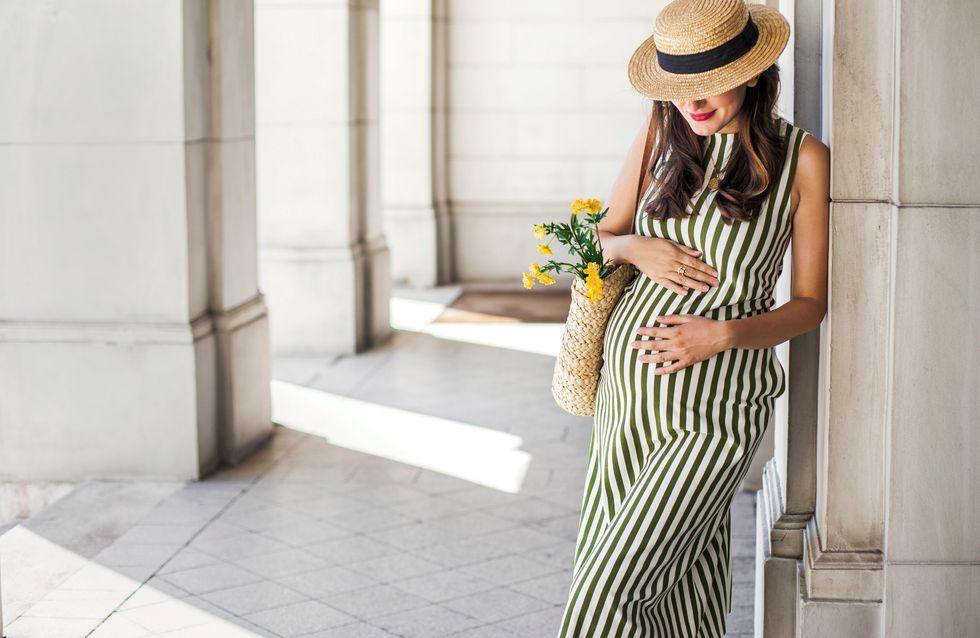 Tendencias en moda premamá: luce baby bump esta primavera
