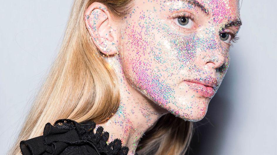 OMG! Das sind die verrücktesten Make-up-Looks der Fashion Week 2018
