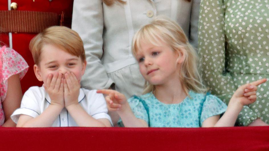 Tutte le facce buffe di George e Charlotte al compleanno della Regina!