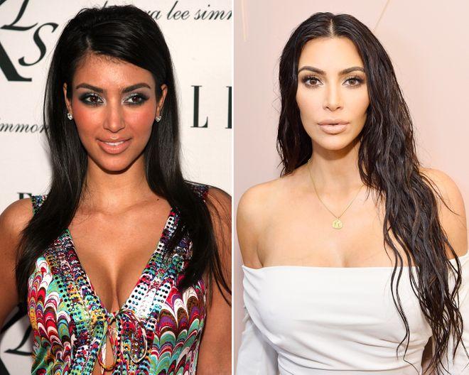 Kim Kardashian früher und heute