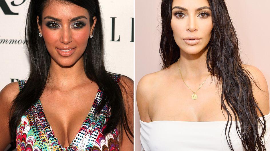 Kim Kardashian früher vs. heute: So krass hat sie sich verändert!