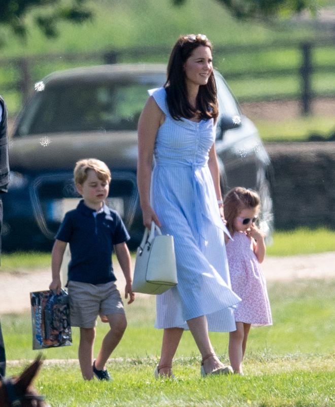 Kate Middleton, Prinz George und Prinzessin Charlotte von Cambridge