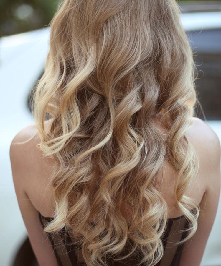 Blonde strähnchen bilder braun Kurze Braune
