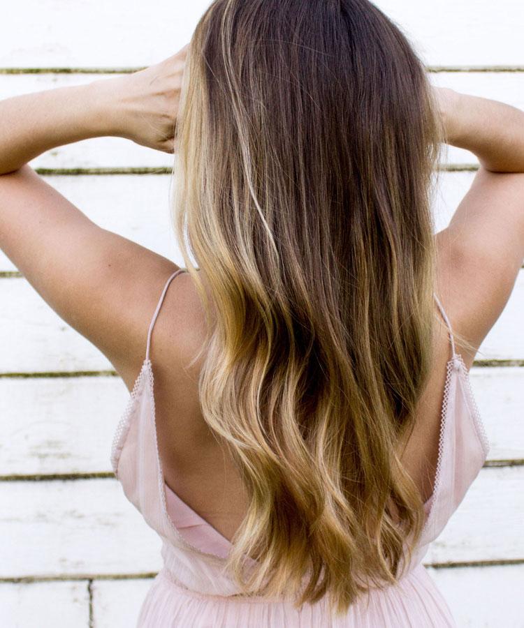 Blonde strähnen rauswachsen