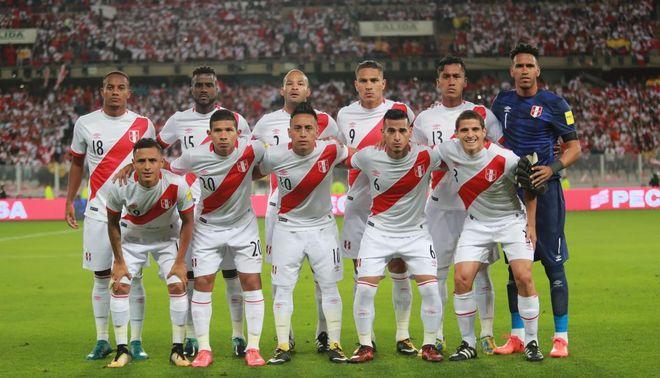 La selección peruana de fútbol