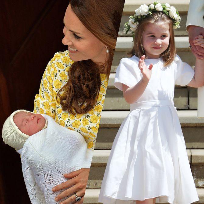 Toutes les photos de la princesse Charlotte depuis sa naissance