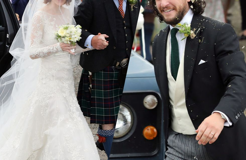 Revivez le mariage des acteurs de Game of Thrones, Kit Harington et Rose Leslie