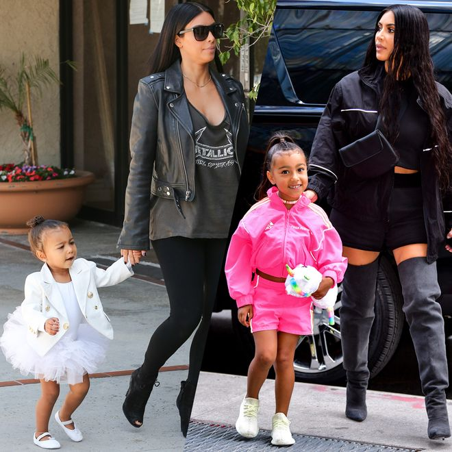 North West : les plus beaux looks d'une mini fashionista