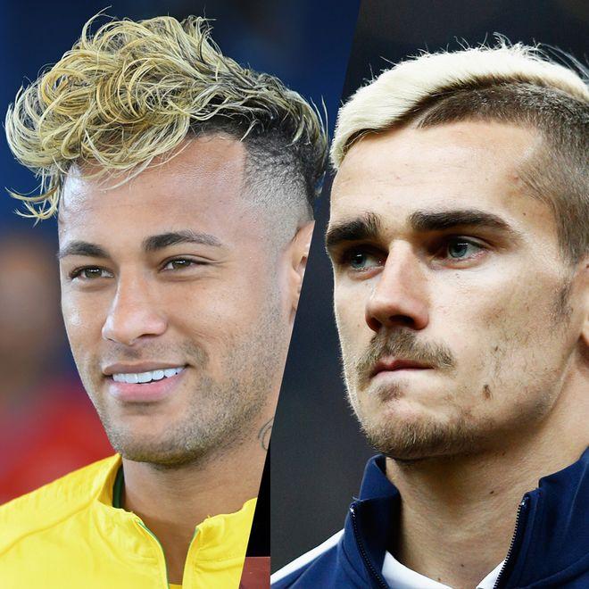 Los peinados de los futbolistas