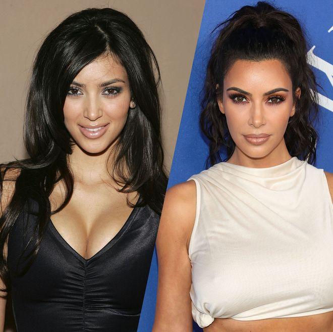 L'évolution beauté de Kim Kardashian