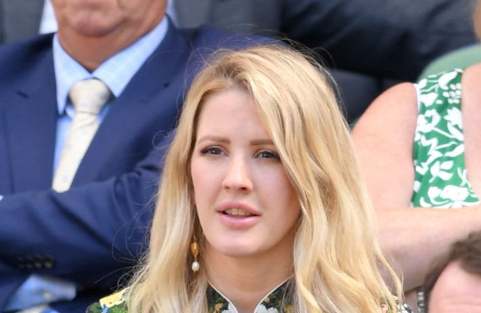 Celebrities Sit Courtside At Wimbledon