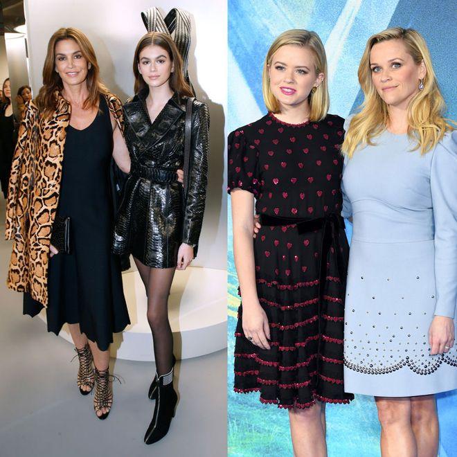 Mini me: Diese Töchter sehen ihren Promi-Müttern zum Verwechseln ähnlich