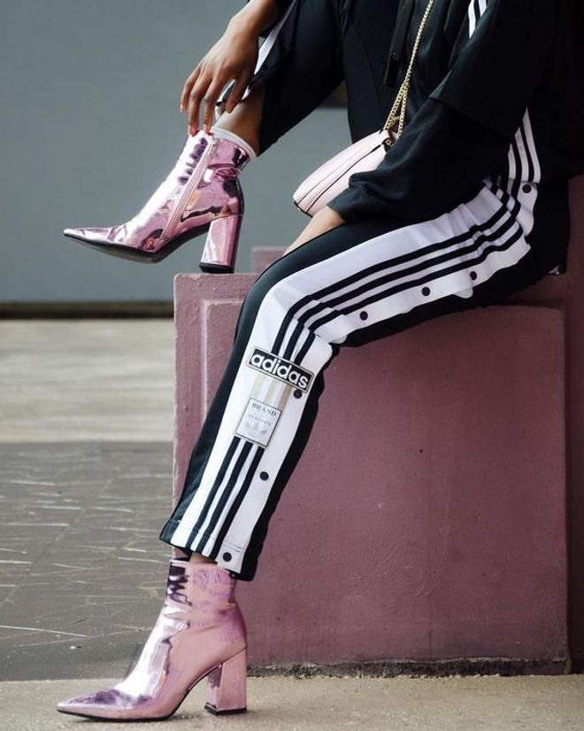 Ideas street style con looks de chándal Adidas