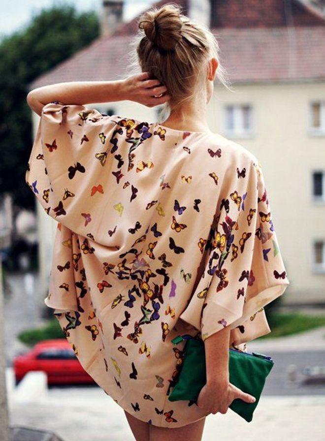 El kimono es tendencia: la prenda de entretiempo perfecta