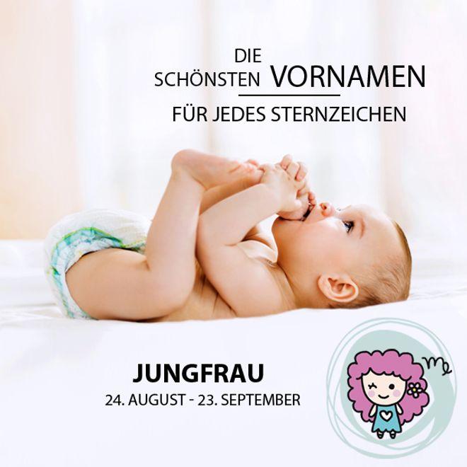 Die schönsten Vornamen für Jungfrau-Babys