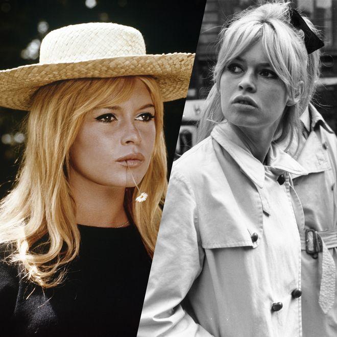 Les plus belles coiffures de Brigitte Bardot