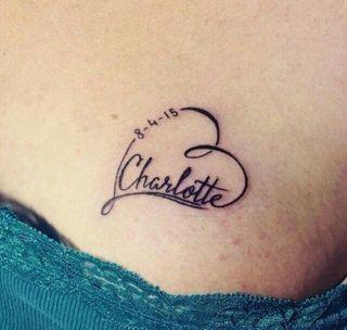 Tatuajes Con Nombres Las Ideas Y Diseños Más Populares Foto